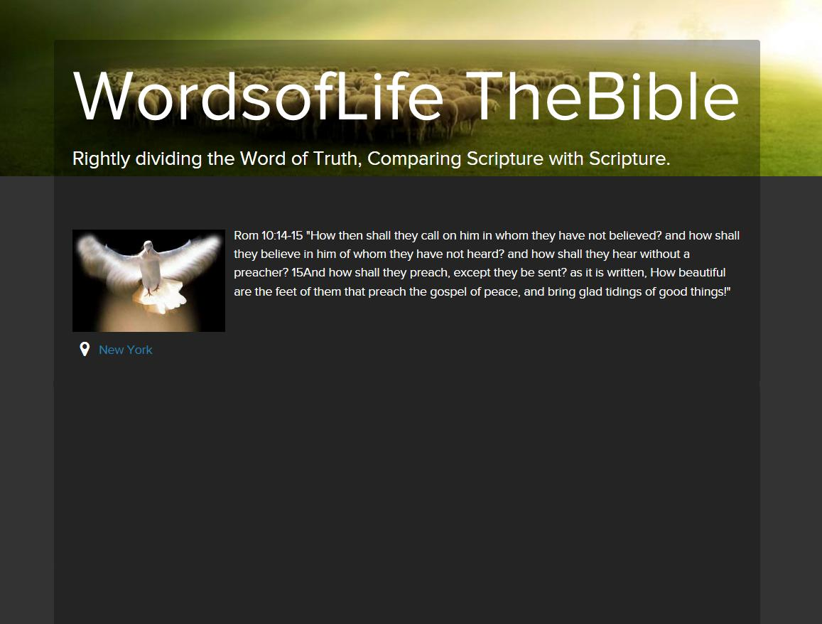WordsofLife TheBible